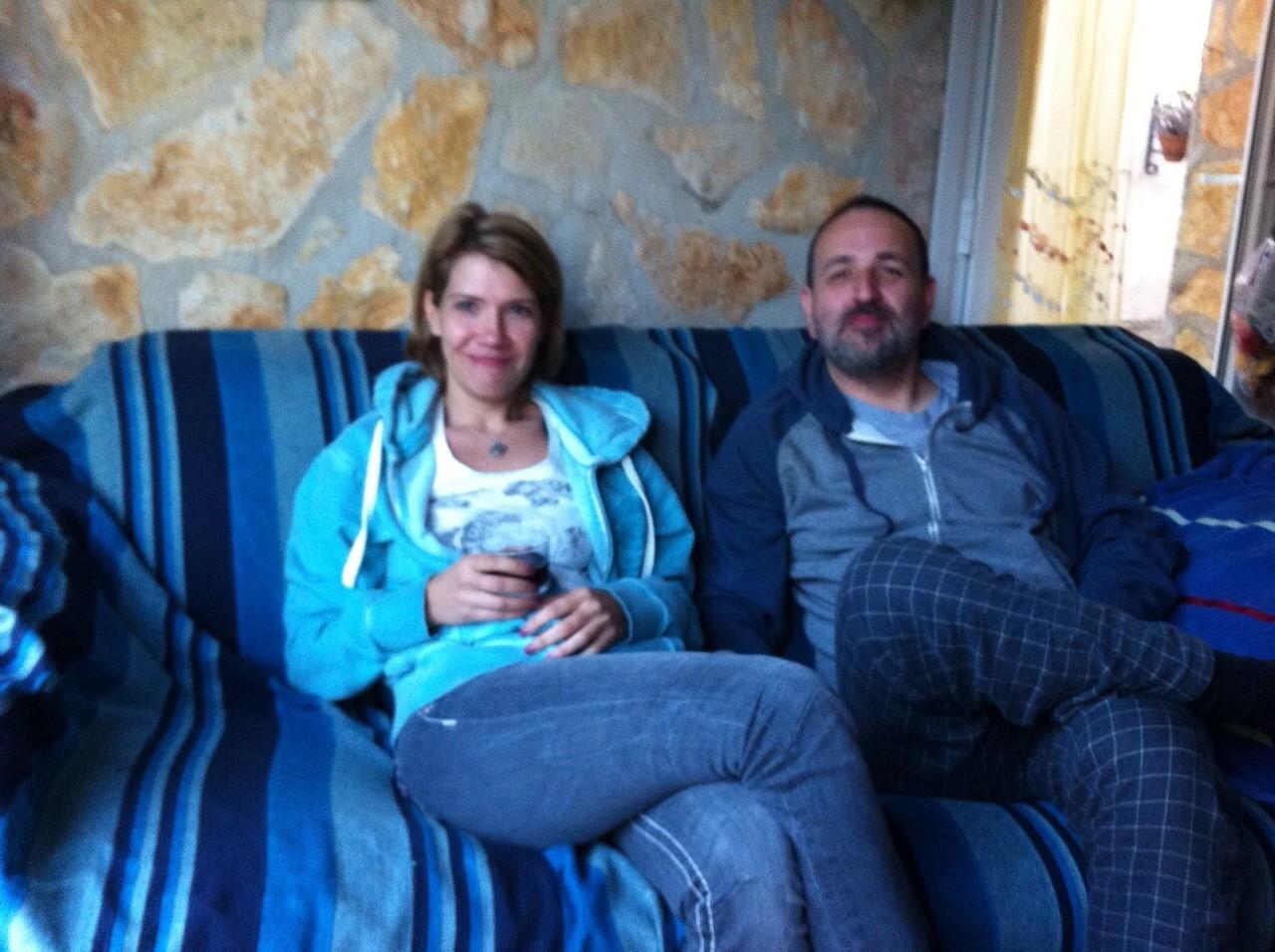 Susanne mit Heiko aus Frankfurt
