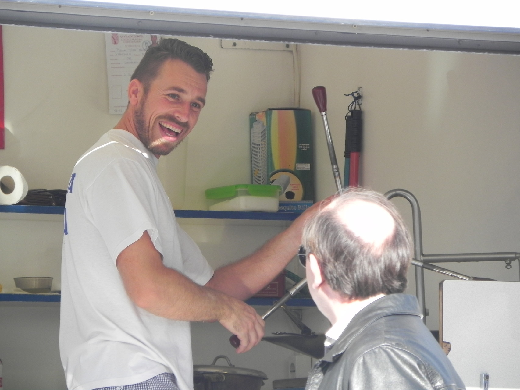Pasquale hält leckere Churros bereit