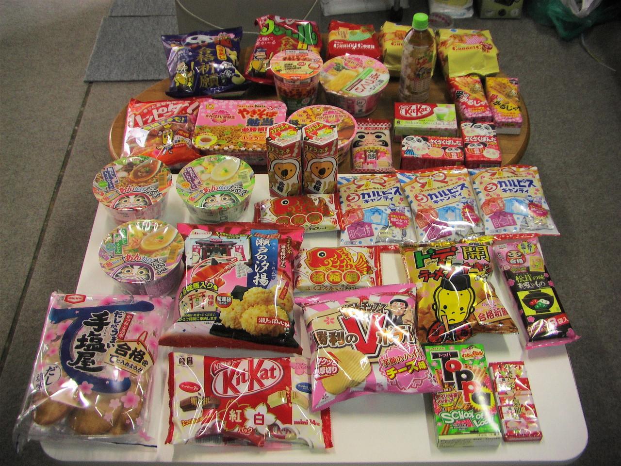 毎年、合格祈願のお菓子を買っています。みんなガンバレ~