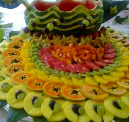Frucht Komposition