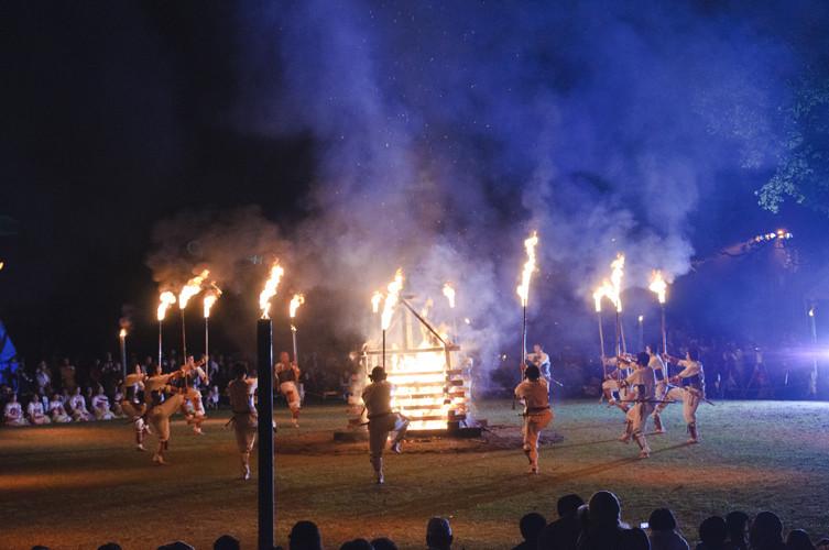 古墳まつり-炎の祭典