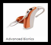 Elektronisches Hörgerät der Firma Advanced Bionics