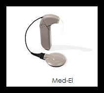 Elektronisches Hörgerät der Firma Med-El