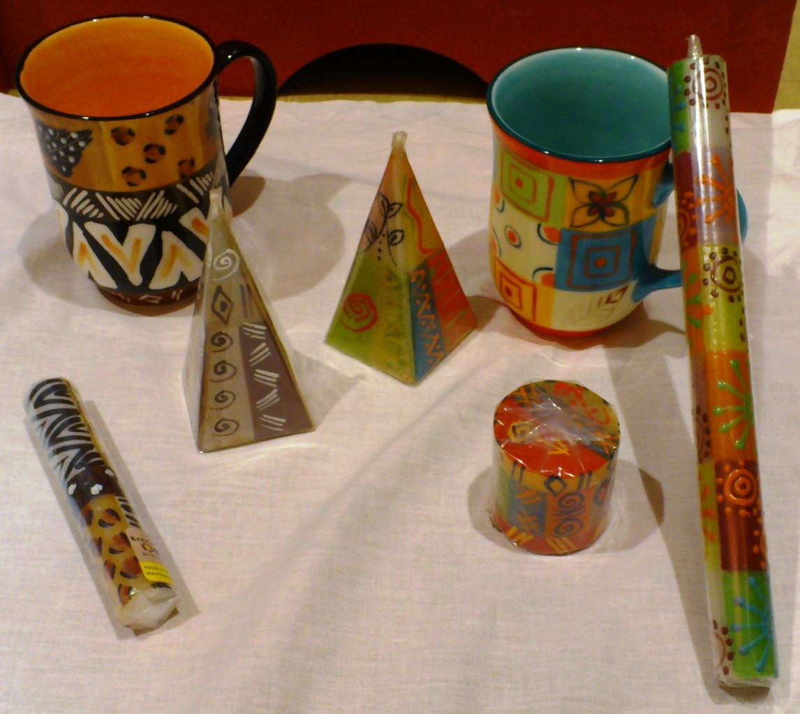 Kapula/Südafrika - Kerzen & Keramikherstellung