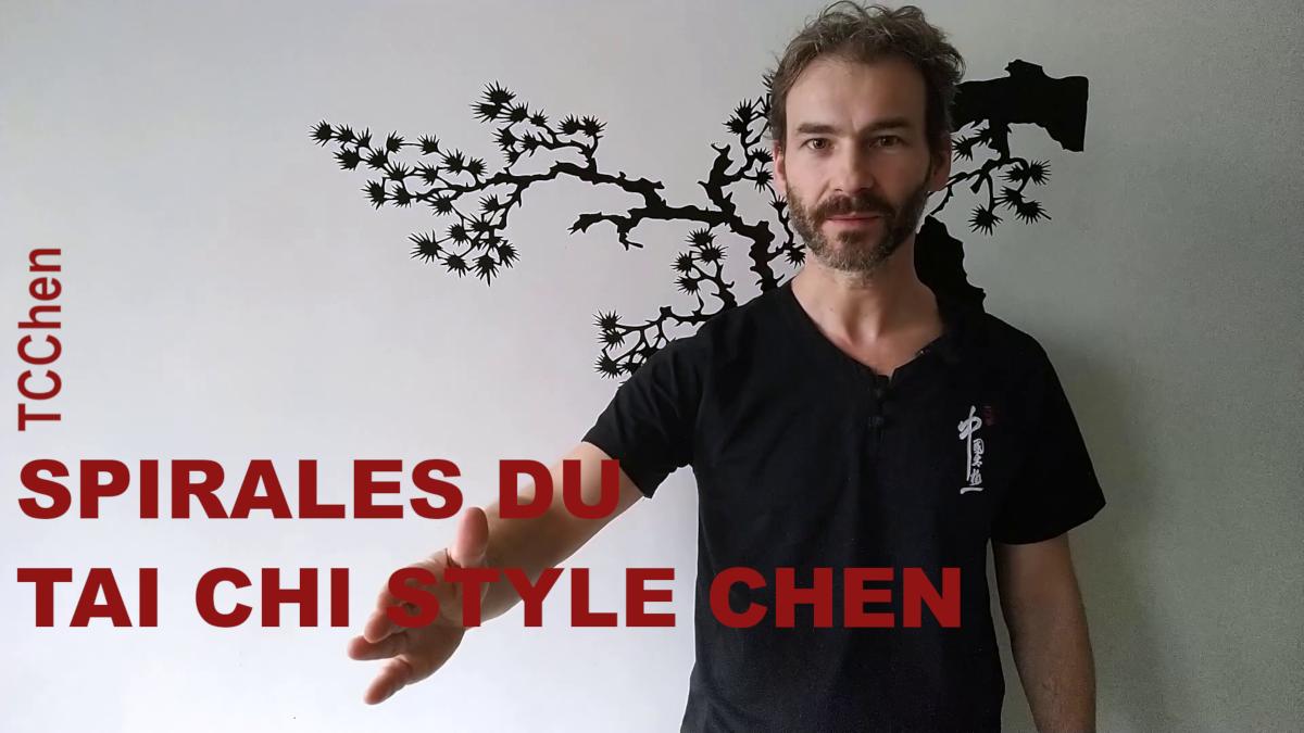 Spirales du tai chi style Chen