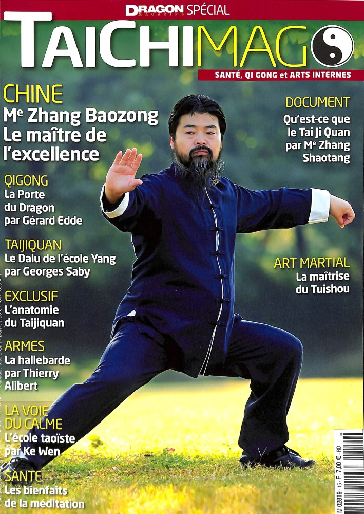 Interview de Zhang Baozhong dans TaiChiMAG