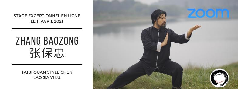 Stage de Me Zhang Baozhong en ligne