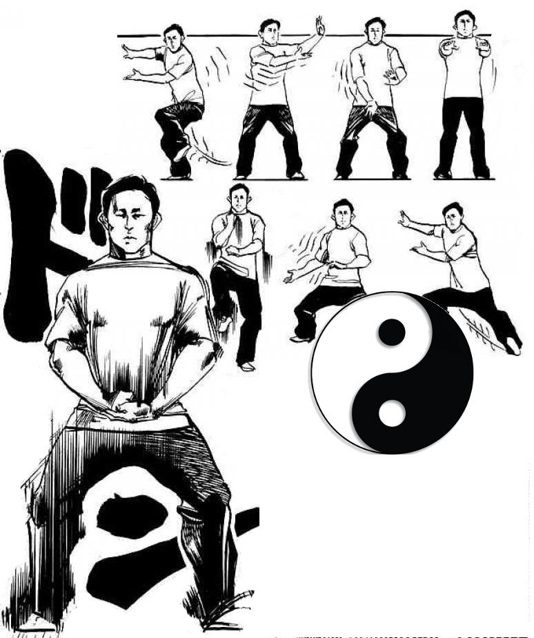 Zhen jiao : piétiner en tai chi style Chen