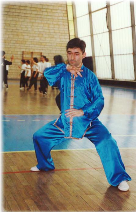 Phillipe Raffort, tai-chi style Chen forme xiaojia
