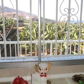 Panorama-Blick aus der Küche des Ferienappartement in Puerto de la Cruz