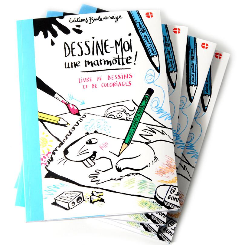 Hors collection livres enfants contes de savoie - Dessiner une marmotte ...