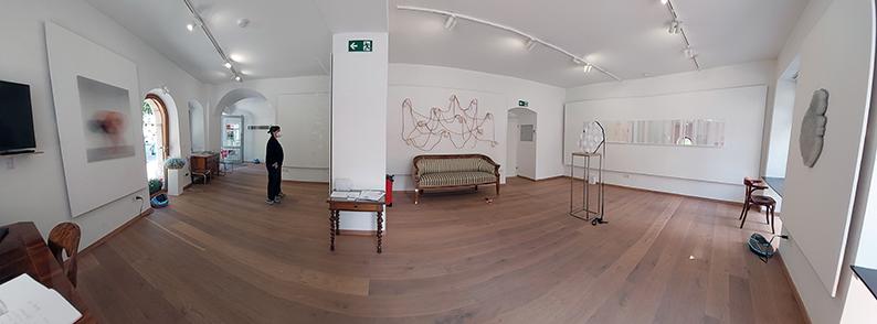 DIE GALERIE Ausstellung Schnittmenge Gesamtüberblick