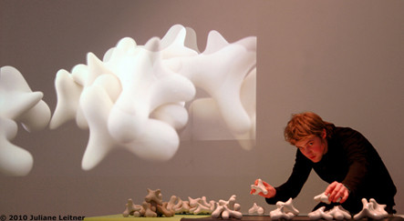 There's one hitch!; module out of porcelain; feb.2010; © Johannes Engelsen Espedal