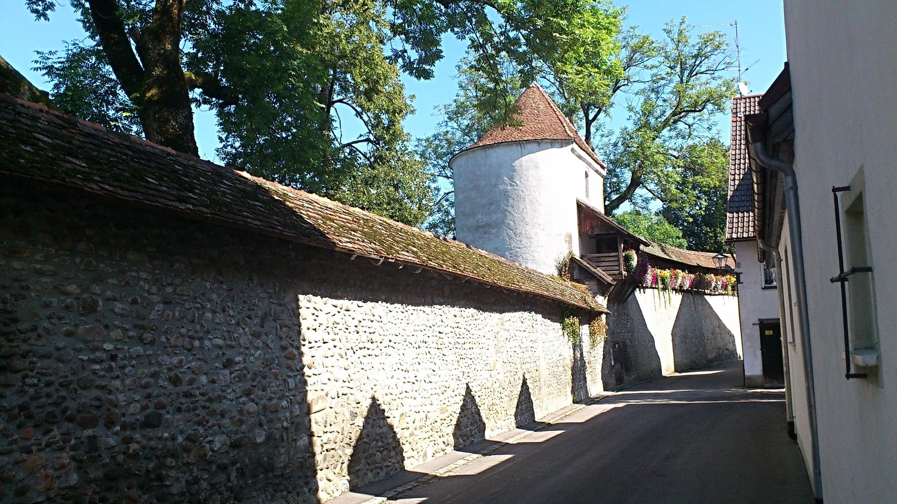 Isnyer Stadtmauer