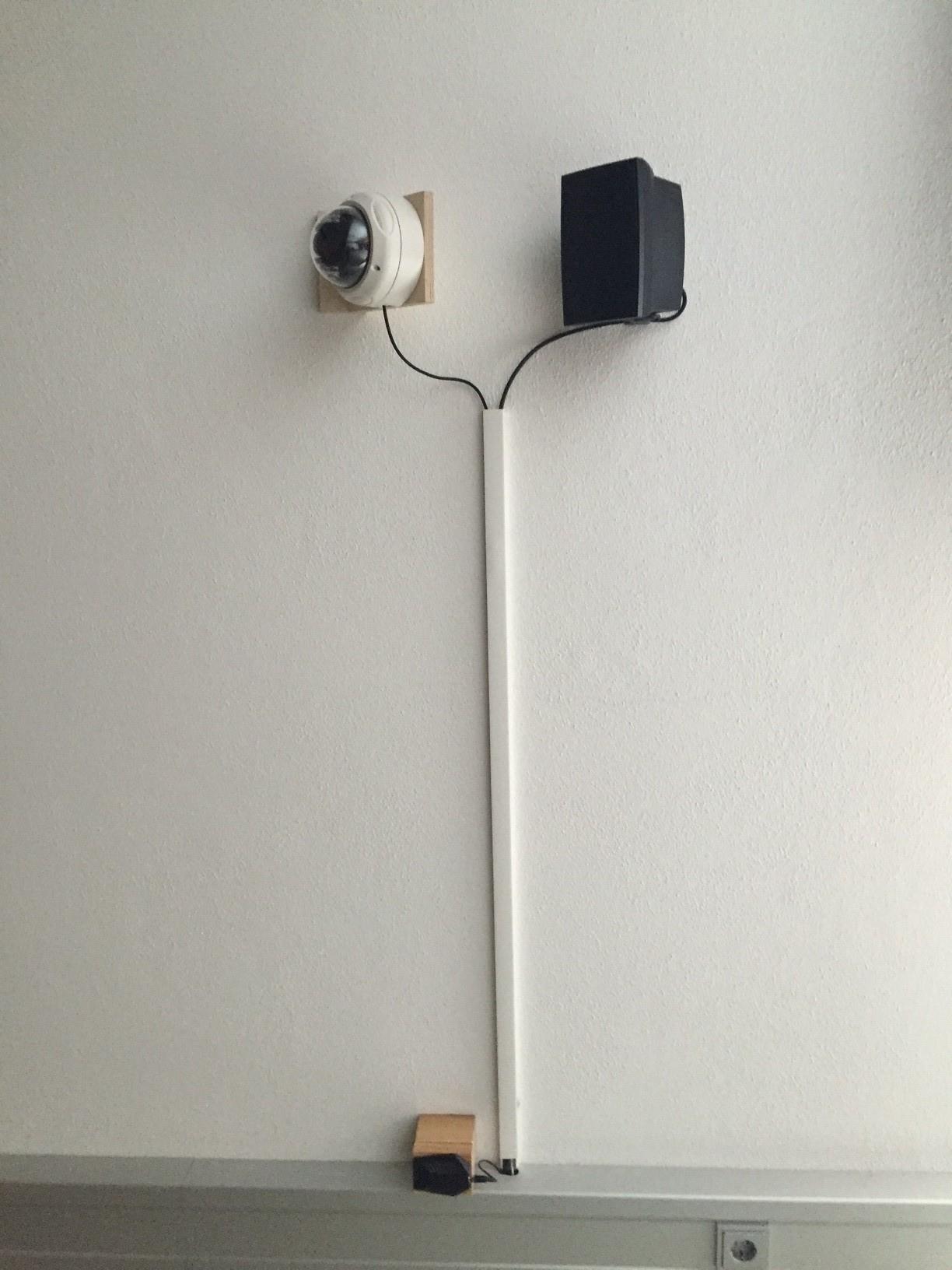 akustische und optische Überwachung der Strecke