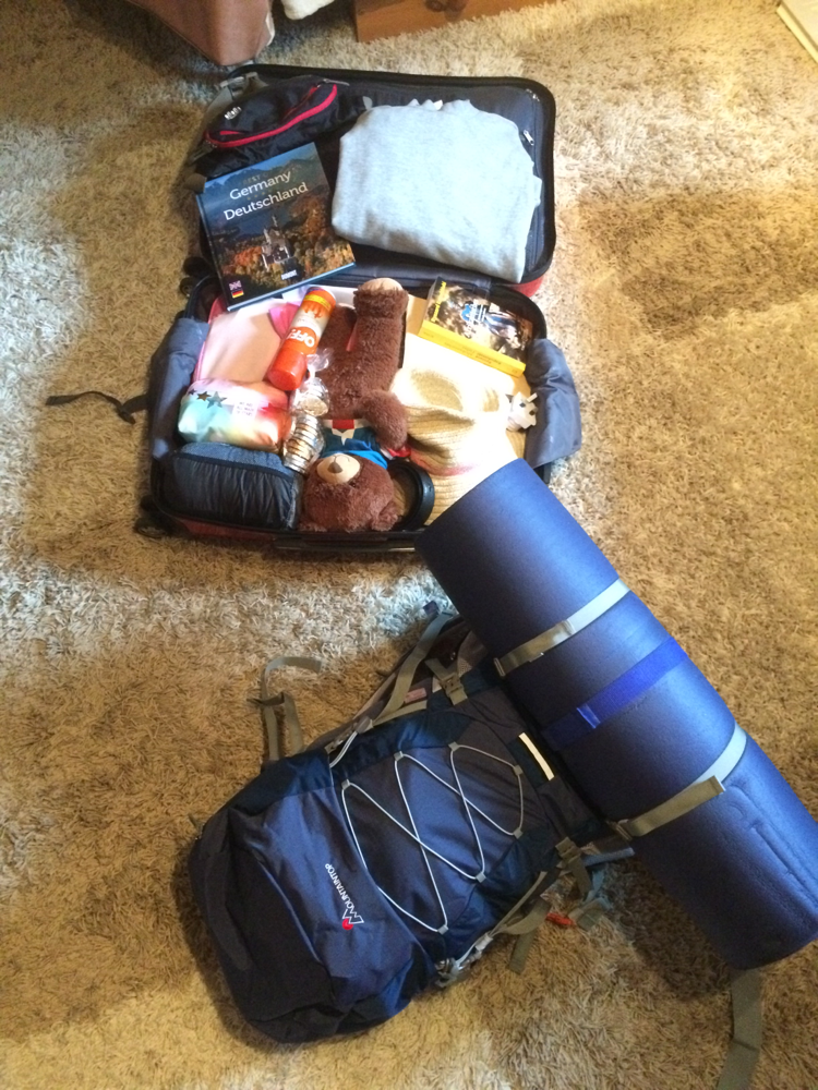Mein Leben aus dem Koffer