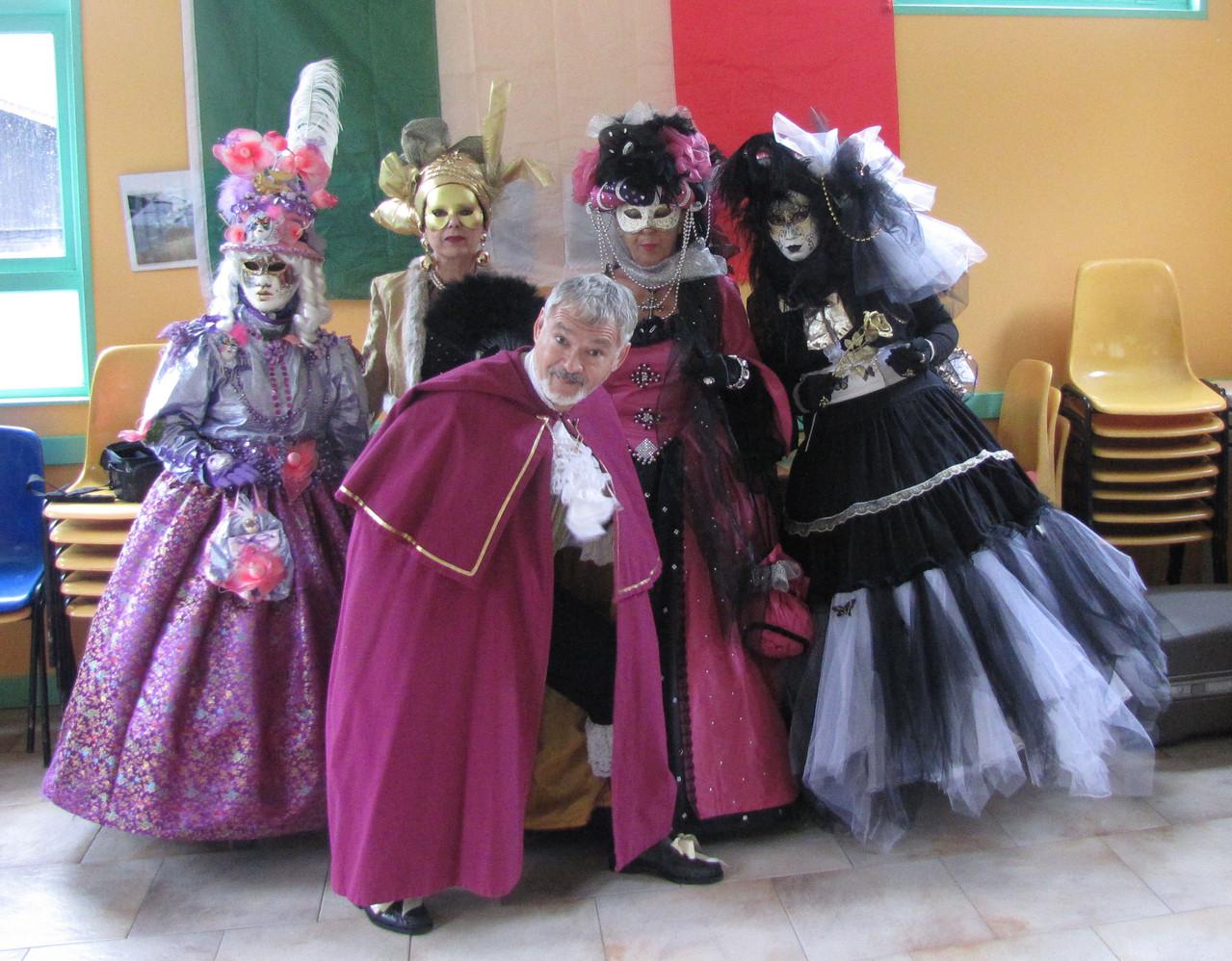 JeanPierre et les 4 marquises
