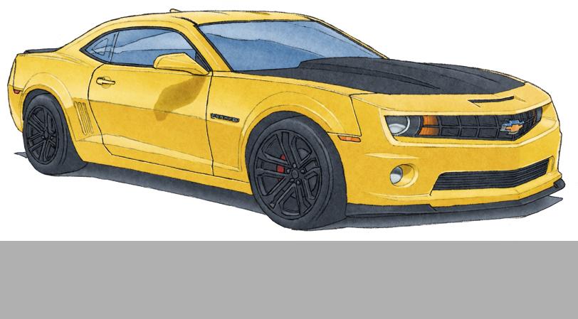 3.0- La carrosserie est ensuite colorée en utilisant la charte de couleur du fabricant