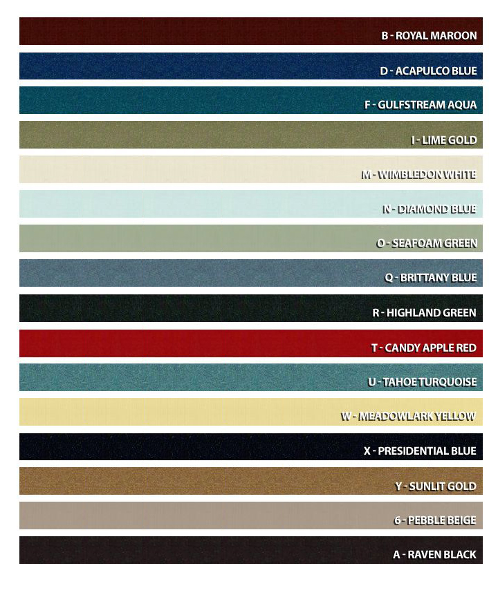 The image is available in all interior, body and decorative stripes colors offered by Ford