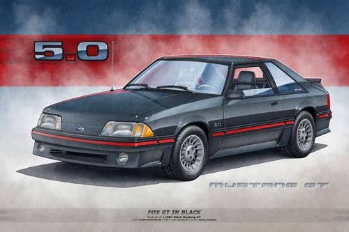 MUSTANG GT 1987, MUSTANG GT 1988, MUSTANG GT 1989, MUSTANG GT 1990,  MUSTANG GT FOX BODY