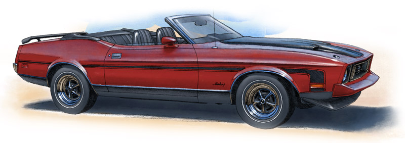 Mustang convertible 1973