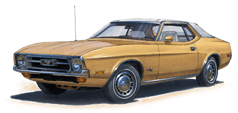Mustang Coupe 1971