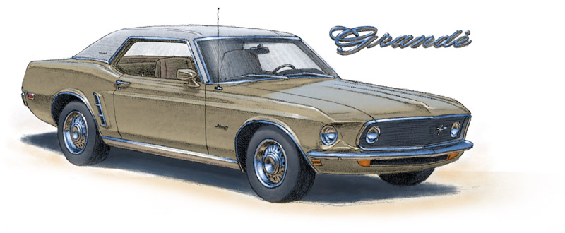 Mustang Grandé 1969