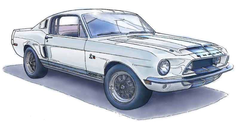SHELBY GT500KR 1968