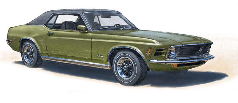 Mustang Grandé 1970