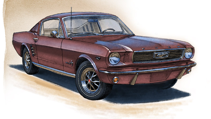 Mustang GT fastback 1966