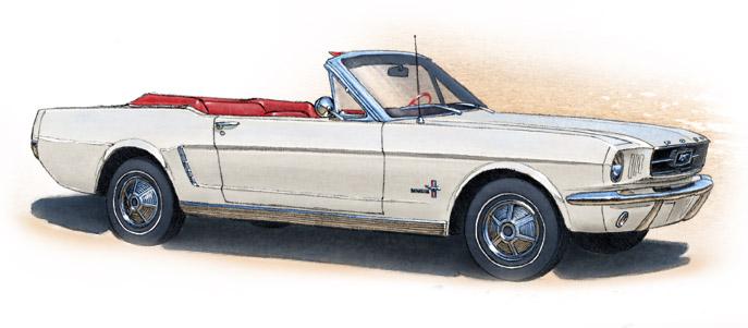 Mustang 1964 1/2 convertible