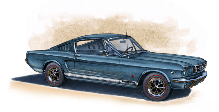 Mustang GT fastback 1965