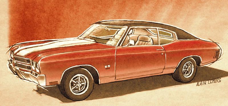CHEVROLET CHEVELLE SS 454 1970