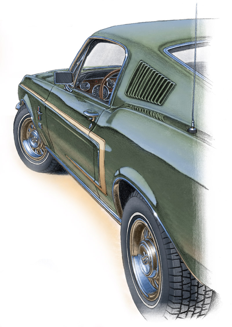 Mustang GT fastback 1968