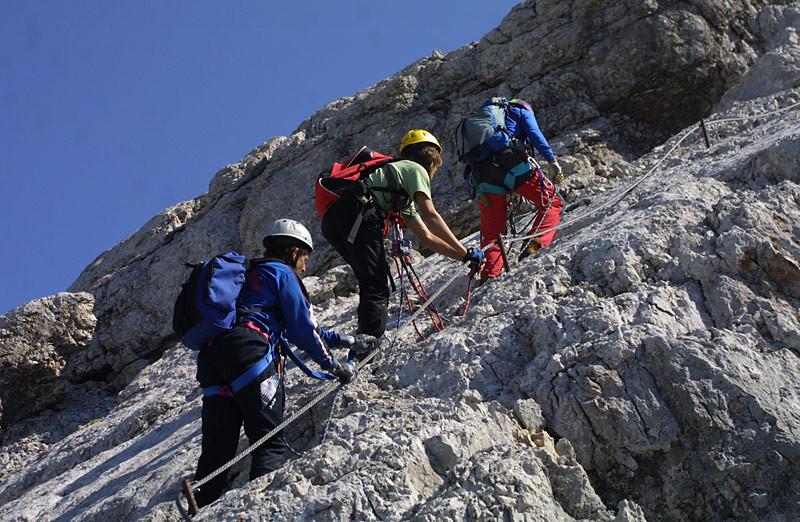 Eldorado der Klettersteiger in den Alpen mit 17 Klettersteige