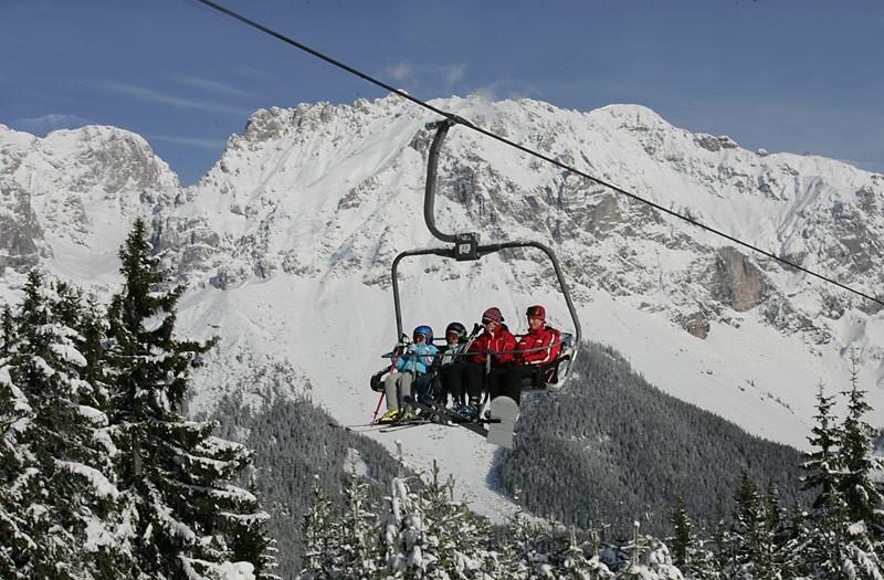 4-er Sesselbahn auf den Rittisberg