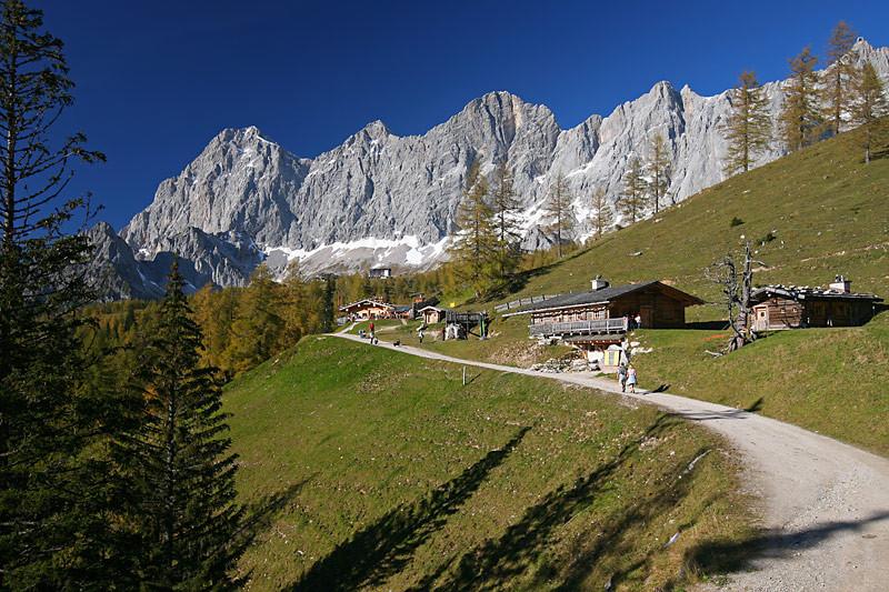 Almenregion und Dachstein Südwände