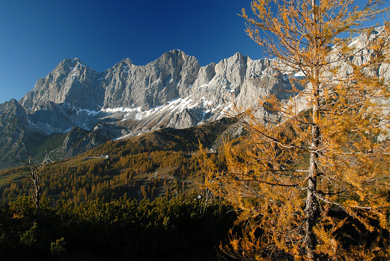 Herbststimmung in Ramsau am Dachstein