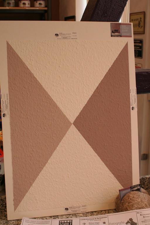 Beispiel einer Musterplatte