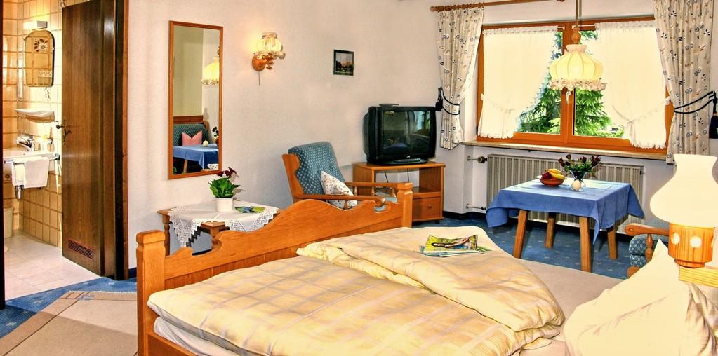 Doppelzimmer im Gästehaus Schuler