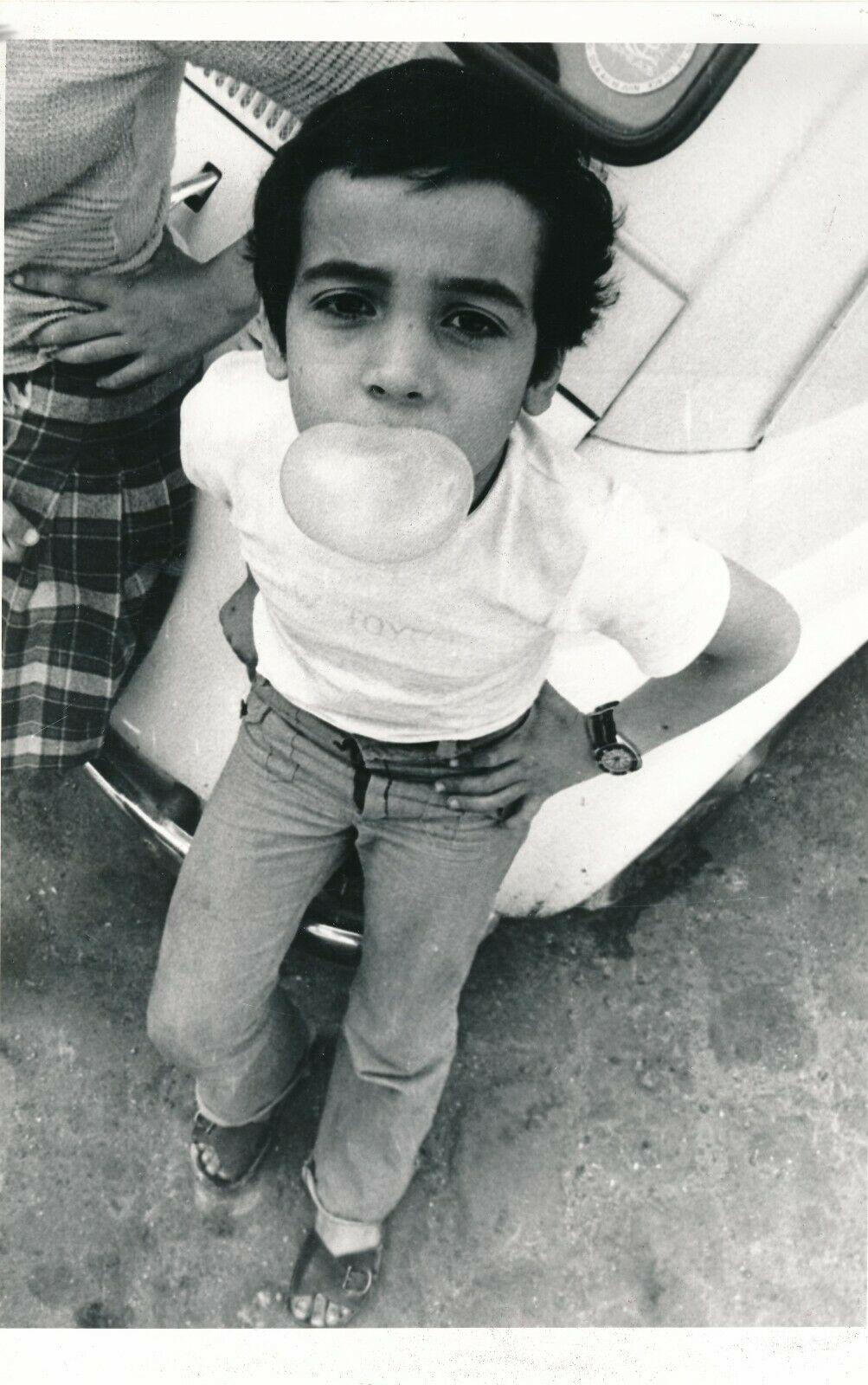 Enfant à la bulle, Claude Mahoudeau