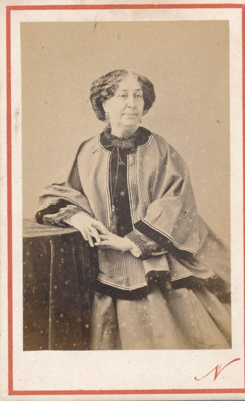 Portrait photographique de George Sand