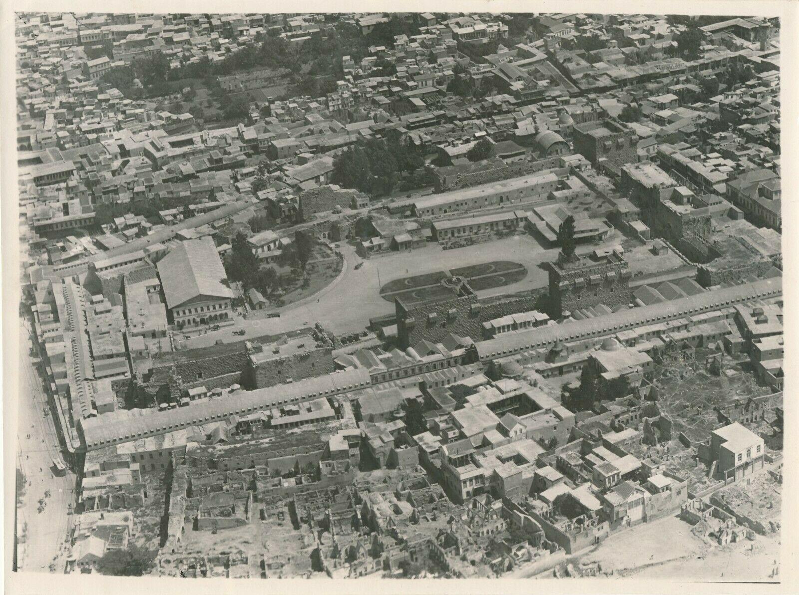 Damas, vue aérienne