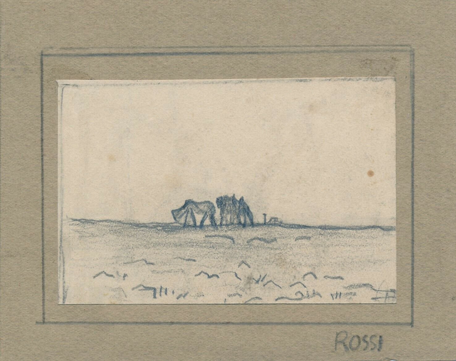 Joseph Rossi, dessin