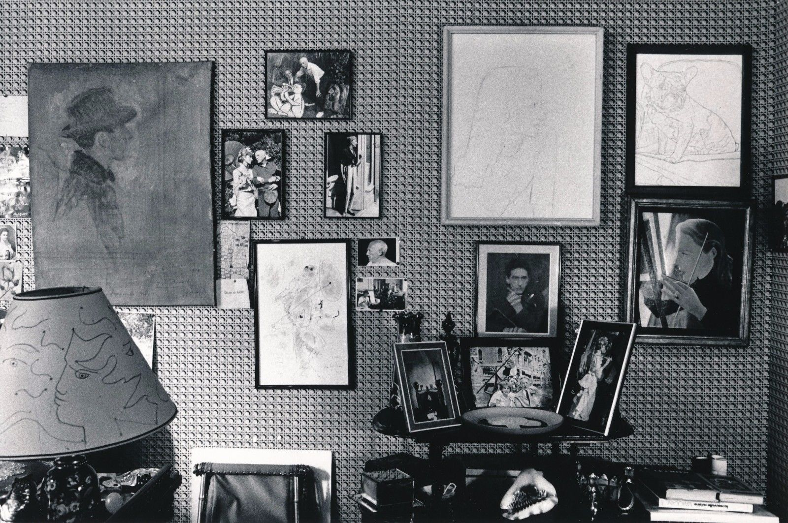 Intérieur de Francine Weisweiller, photographie