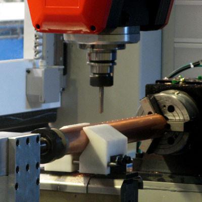 RMC SL collettori - Testa HSD con fresa - Mandrino speciale