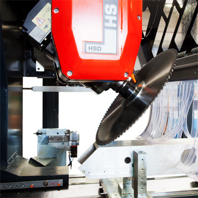 RMC SL - Testa HSD con lama di taglio - Morsaggio standard