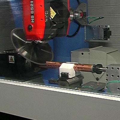 RMC SL collettori - Testa HSD con lama di taglio - Mandrino speciale