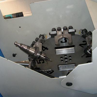 Ralc Italia - Centro di lavoro RMC M - Magazzino utensili