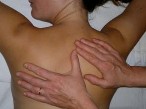 Lymphdrainage Rücken Therapien